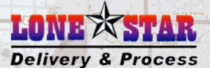 Logo for Lonestar Delivery & Process