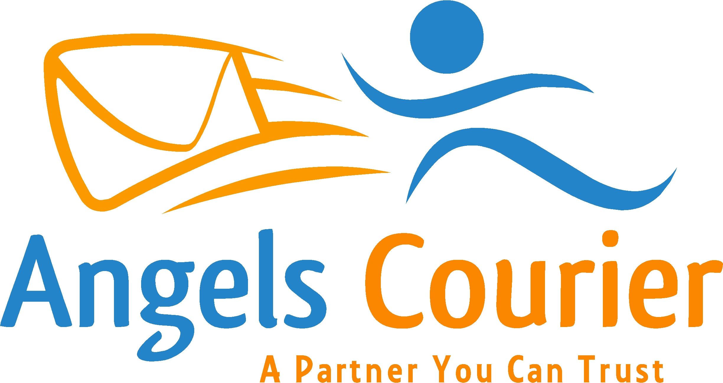 Logo for Angels Courier, Inc.
