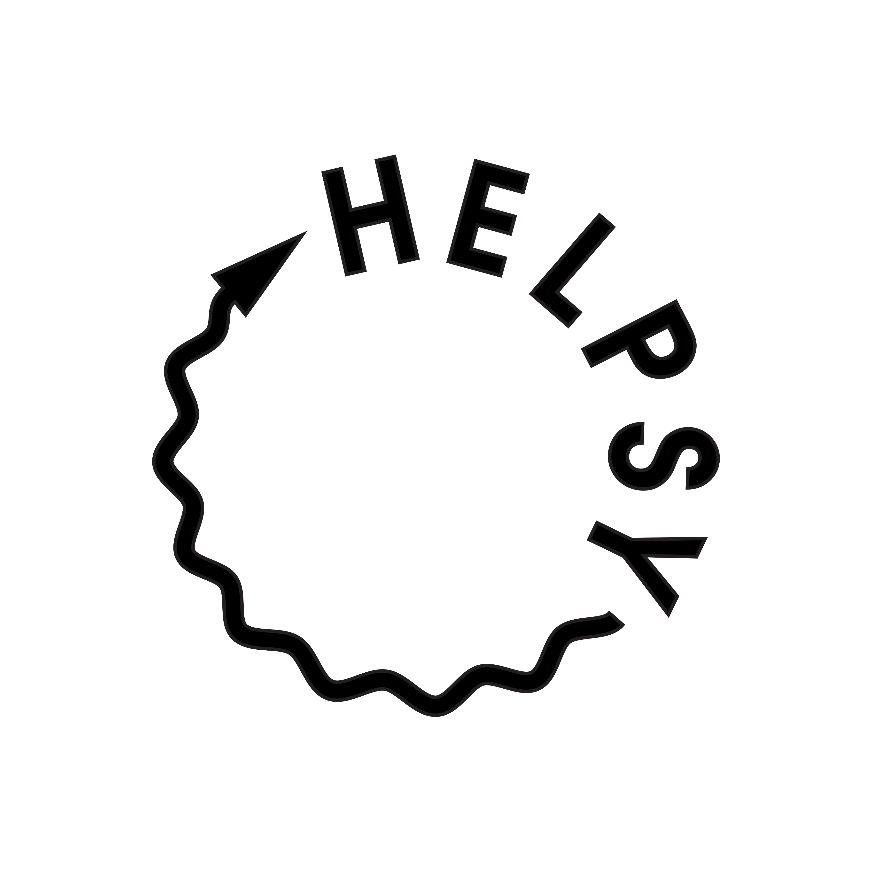 Logo for HELPSY