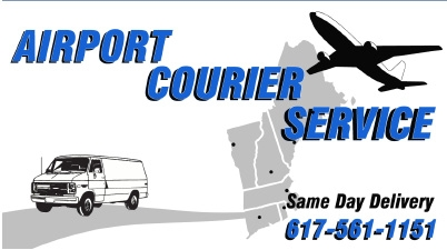 Logo for Airport Courier Service