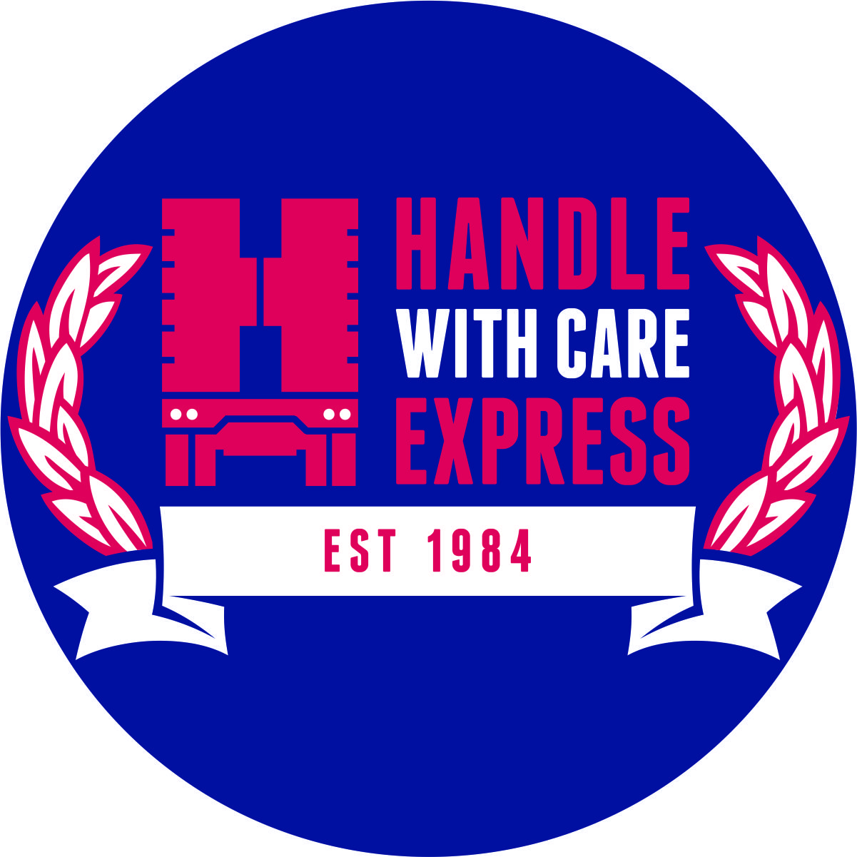 Logo for Handle With Care Express