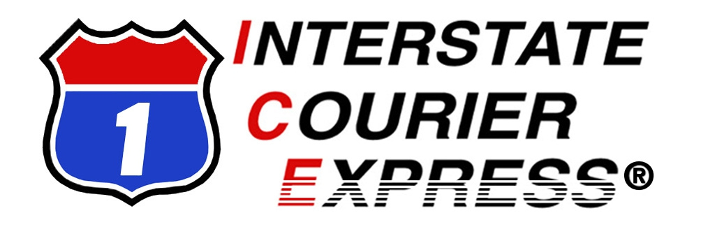 Logo for Interstate Courier Express