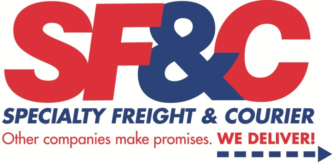 Logo for Specialty Freight & Courier