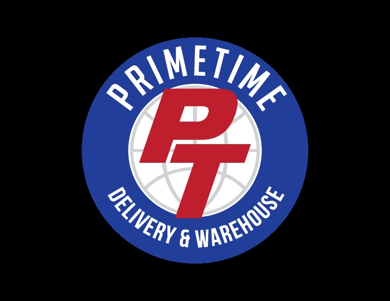 Logo for Primetime Delivery and Warehouse